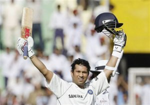 Saching Tendulkar - one more milestone