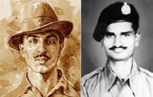 First Freedom Fighter Bhagat Singh, Second Freedom Fighter Anna Hajare